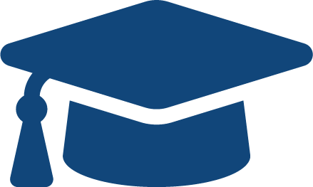 graduation cap school icon